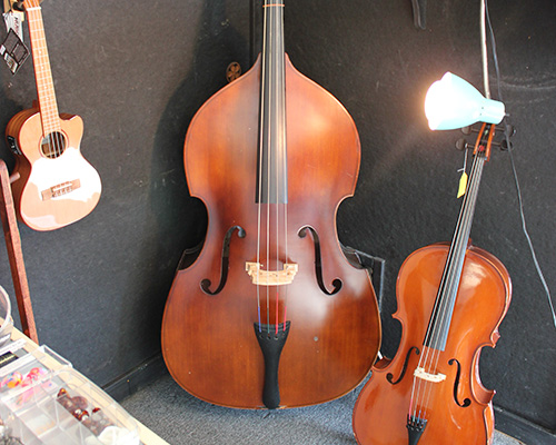 Music Instrument Display