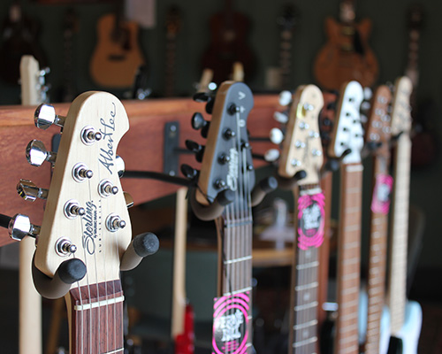 Electric Guitar Rack