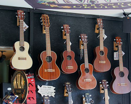 Ukulele Display